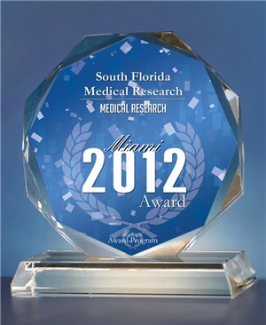Miami Award South Florida Medical Research